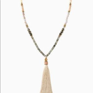 Stella and Dot Antonia Tassel Necklace